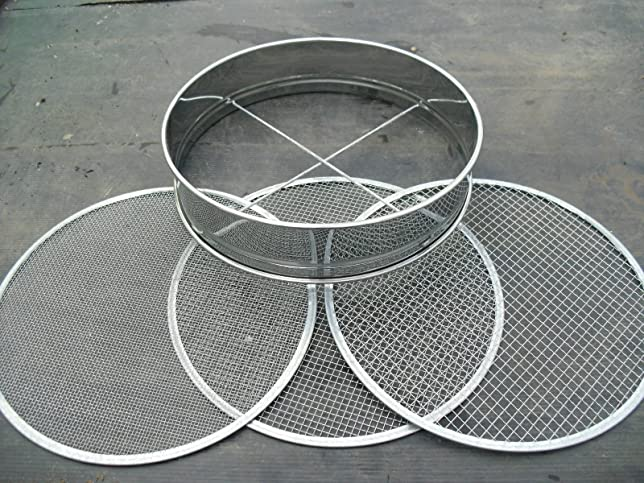 6 opinioni per Soil Sieve Stainless Steel with 3 interchangable Mesh Sizes by All Things Bonsai