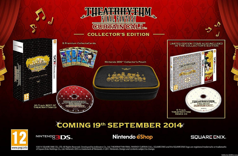 Good Theatrhythm Final Fantasy Curtain Call Collectors Edition 3DS:  Amazon.co.uk: PC U0026 Video Games