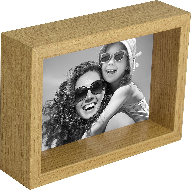 10 x 15 cm Box Cadre Photo, Blanc BD ART