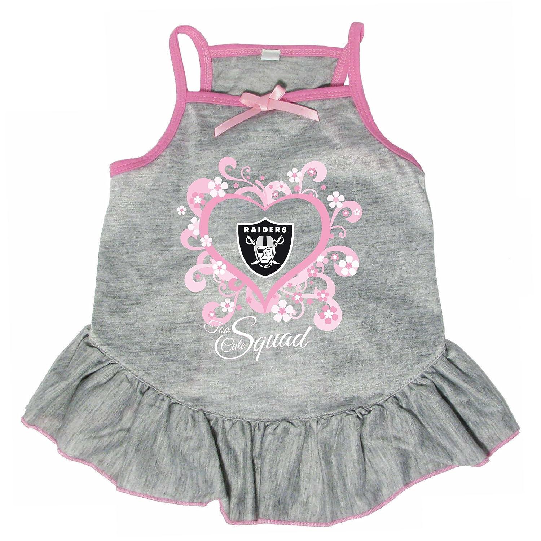 Hunter 4239-10-3500 NFL Oakland Raiders Too Cute Pet Dress, X-Large