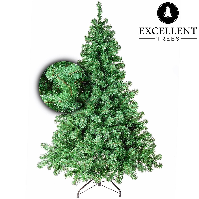 Excellent Trees Künstlicher Weihnachtsbaum Tannenbaum Christbaum grün Stavanger Grün 210 cm