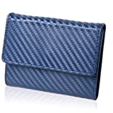 BLUE SINCERE レザー 小銭入れ 薄型 カード収納 メンズ