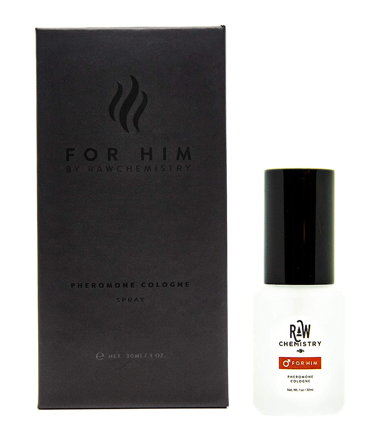 RawChemistry Pheromone Cologne, for Him [Attention Formula] - Bold, Extra Strength Formula 1 oz.