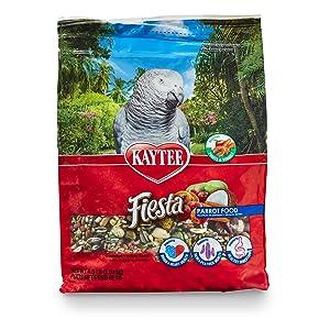 Kaytee Fiesta Bird Food For Parrots