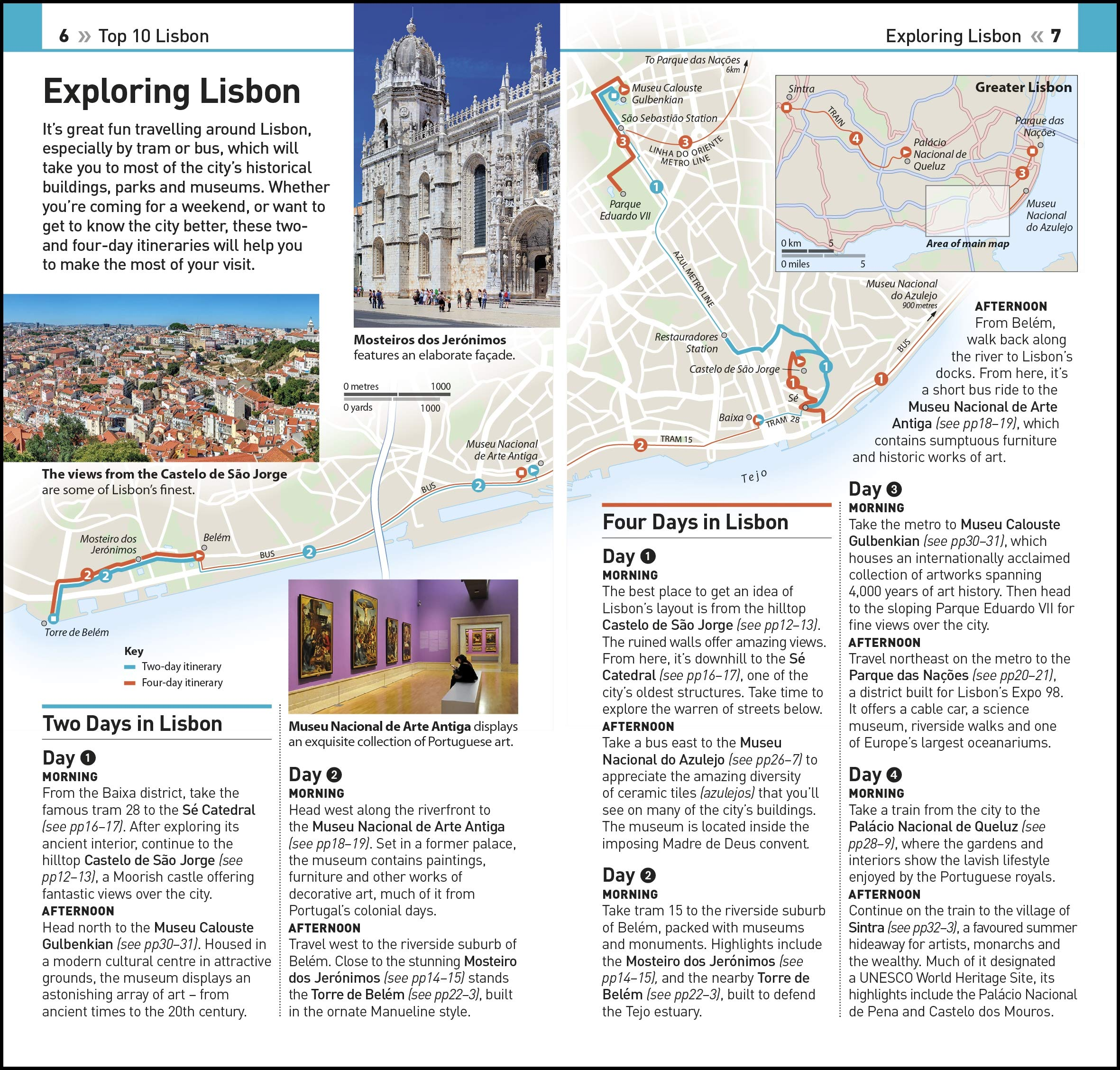 Lisbon Tram Map on