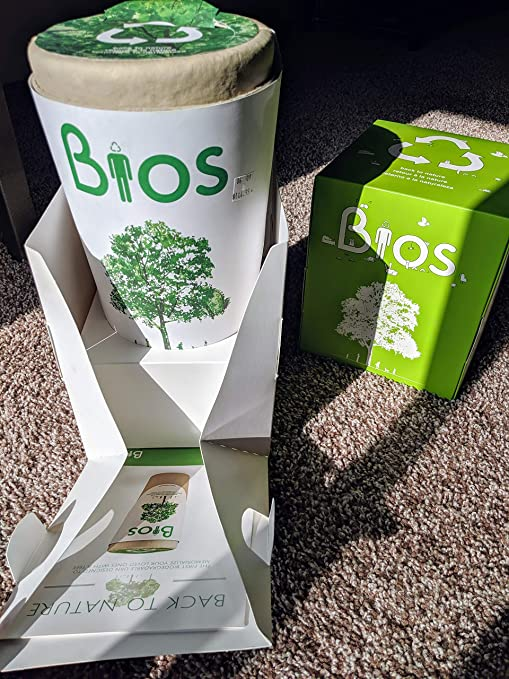 Bios Urn Memorial Funeral Cremation Urn for Humans. Passing becomes a  transformation as your beloved\u0027s ashes are returned to Life by means of  nature.
