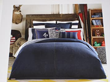Awesome Tommy Hilfiger Twin Denim Comforter
