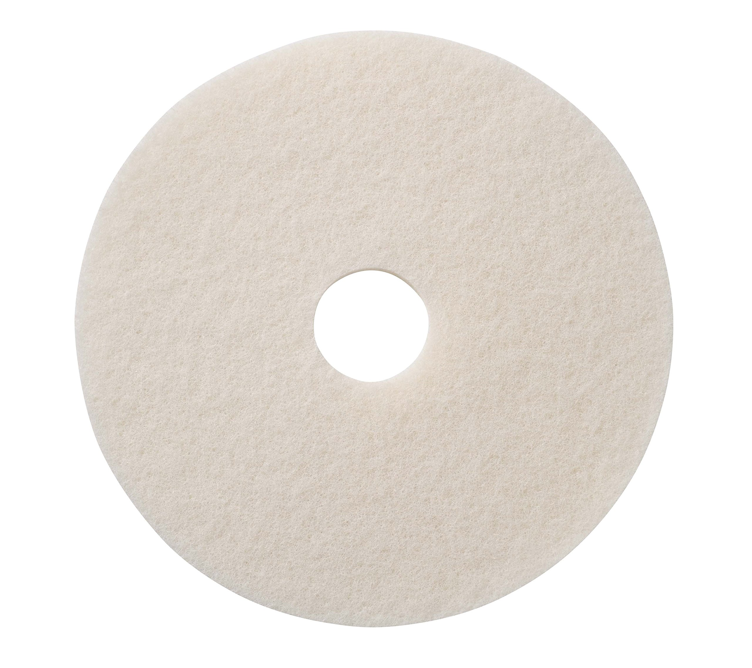 Glit/Microtron 401220 Super Polishing Pad, 20'', White (Pack of 5) by Glit / Microtron