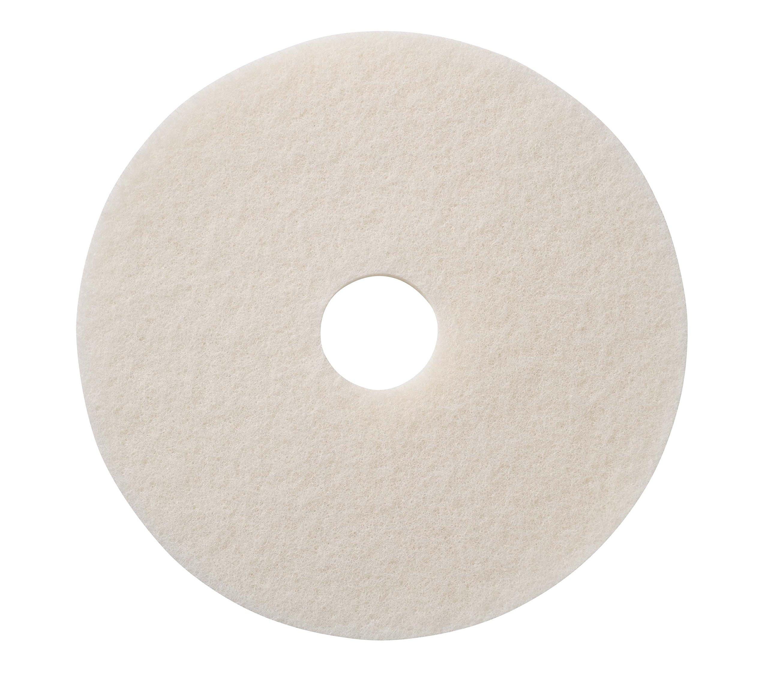 Glit / Microtron 401217 Super Polishing Pad, 17'', White (Pack of 5)