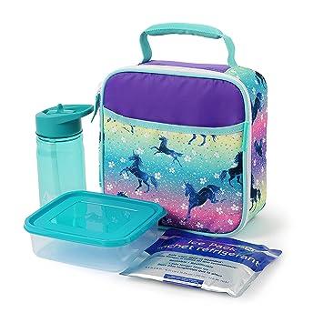 Amazon.com: Bolsa de almuerzo de unicornio.: Baby