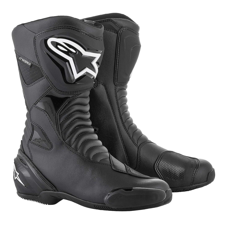 Botas para moto color negro impermeables Alpinestars S-MX S talla 41
