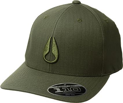Amazon.com  NIXON Unisex Scout 110 Snapback Hat Avocado One Size ... d5ba60393a01