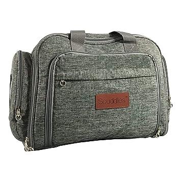 Amazon.com: scuddles portátil de viaje cuna con colchón 3 ...