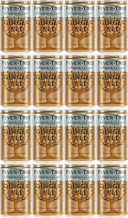 Fever-Tree Refreshingly Light Ginger Ale 16 x 150 ml (Paquete ...