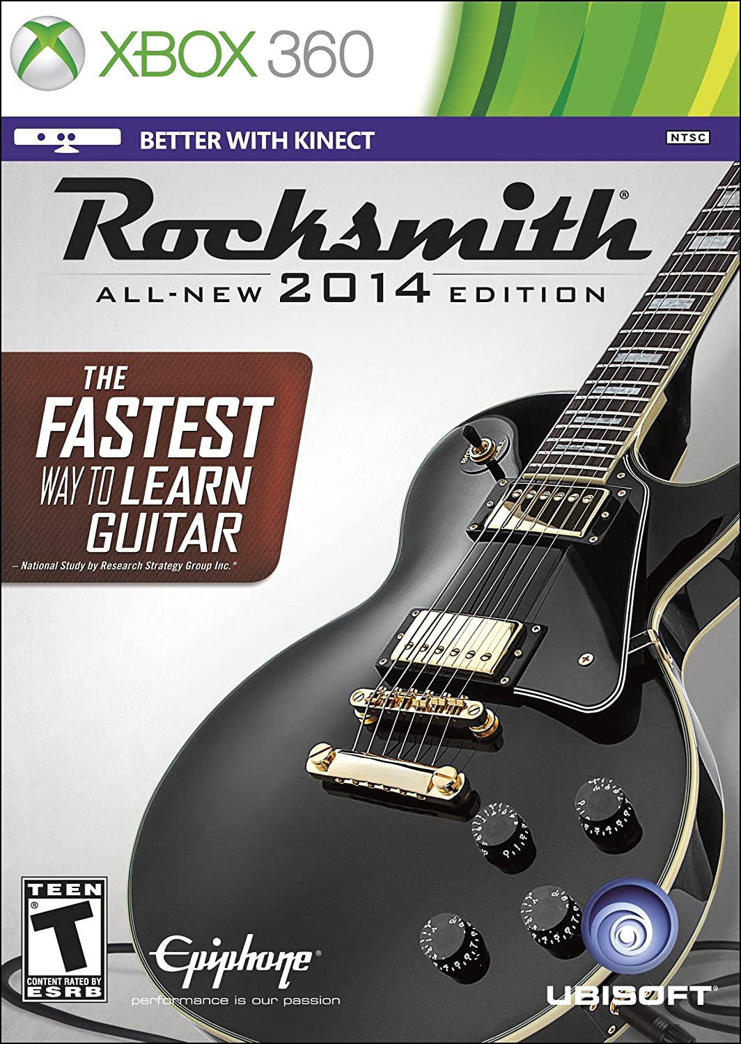 Amazon Rocksmith 2014 Edition Xbox 360 Cable Included