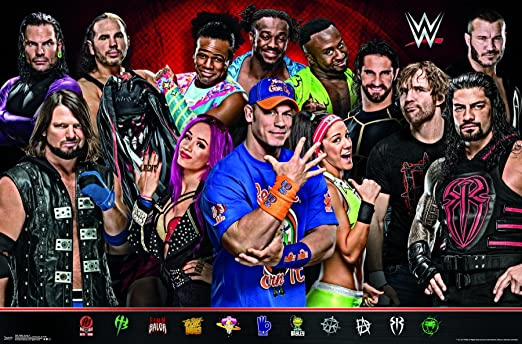 Amazon.com: Trends International WWE - Group 17 Wall Poster ...