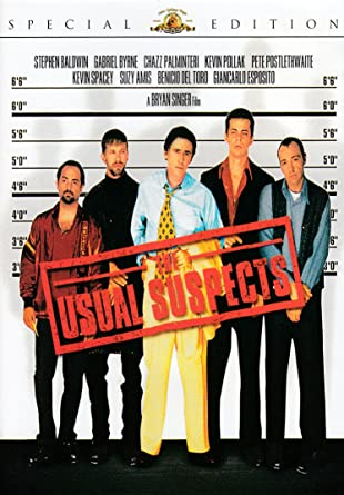 The Usual Suspects Movie POSTER 11 x 17 Kevin Spacey B Gabriel Byrne