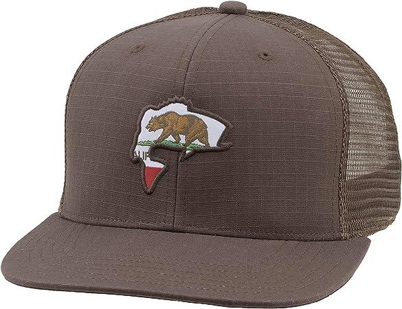 Snapback Baseball Cap with Tarpon Fish Fishing Ball Cap with Mesh Back Simms Tarpon Patch Trucker Hat Adjustable Trucker Cap