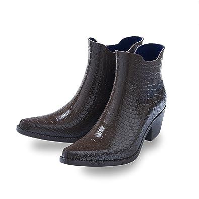 5bff2ed76d1505 Gummistiefel Talolo Boho Braun-Schuhgröße 40  Amazon.de  Schuhe ...