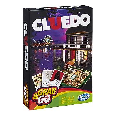 Hasbro Gaming Gaming Travel Cluedo Viaje (Versión Española) (Hasbro Spain B0999105): Juguetes y juegos