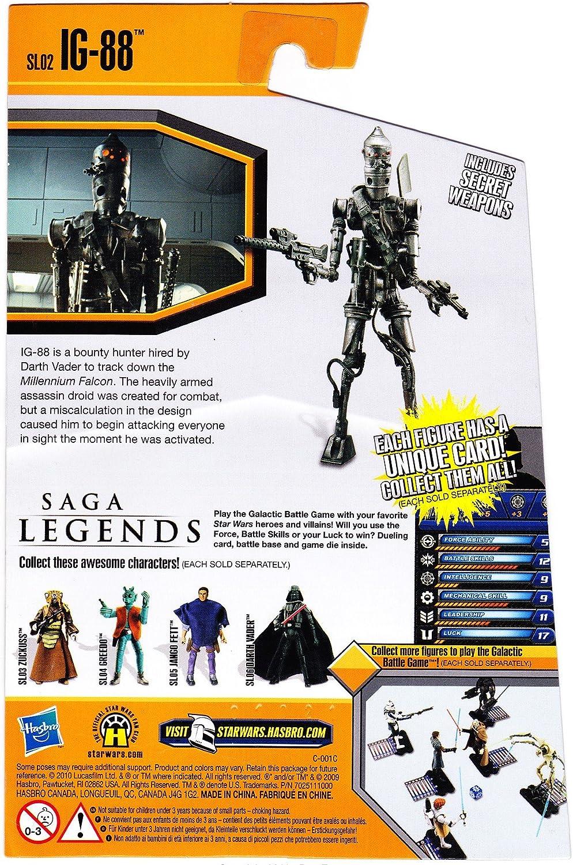 02 IG88 21391 Hasbro Star Wars 2010 Saga Legends Action Figure SL No