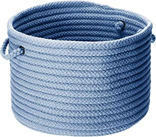 product image for Colonial Mills Simply Home Solid Utility Basket, 14 by 10-Inch, Blue Ice