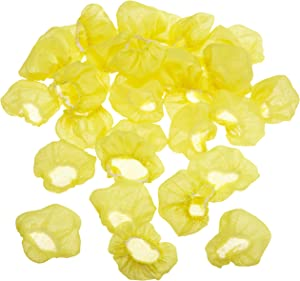 Regency Wraps Yellow Stretch Wraps Covers for Lemon Halves and wedges bag of 100, 2 inches