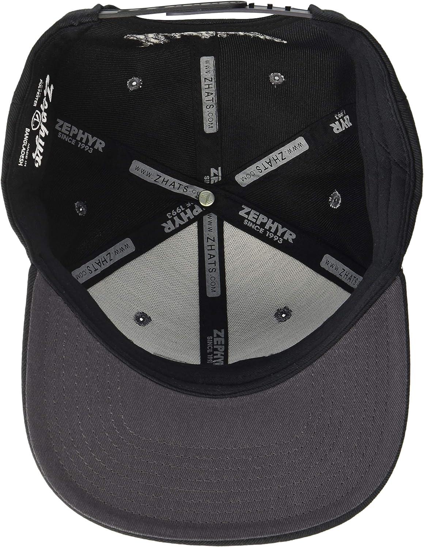 X-Large Grey NCAA Zephyr Virginia Tech Hokies Mens Tailored Stretch Hat