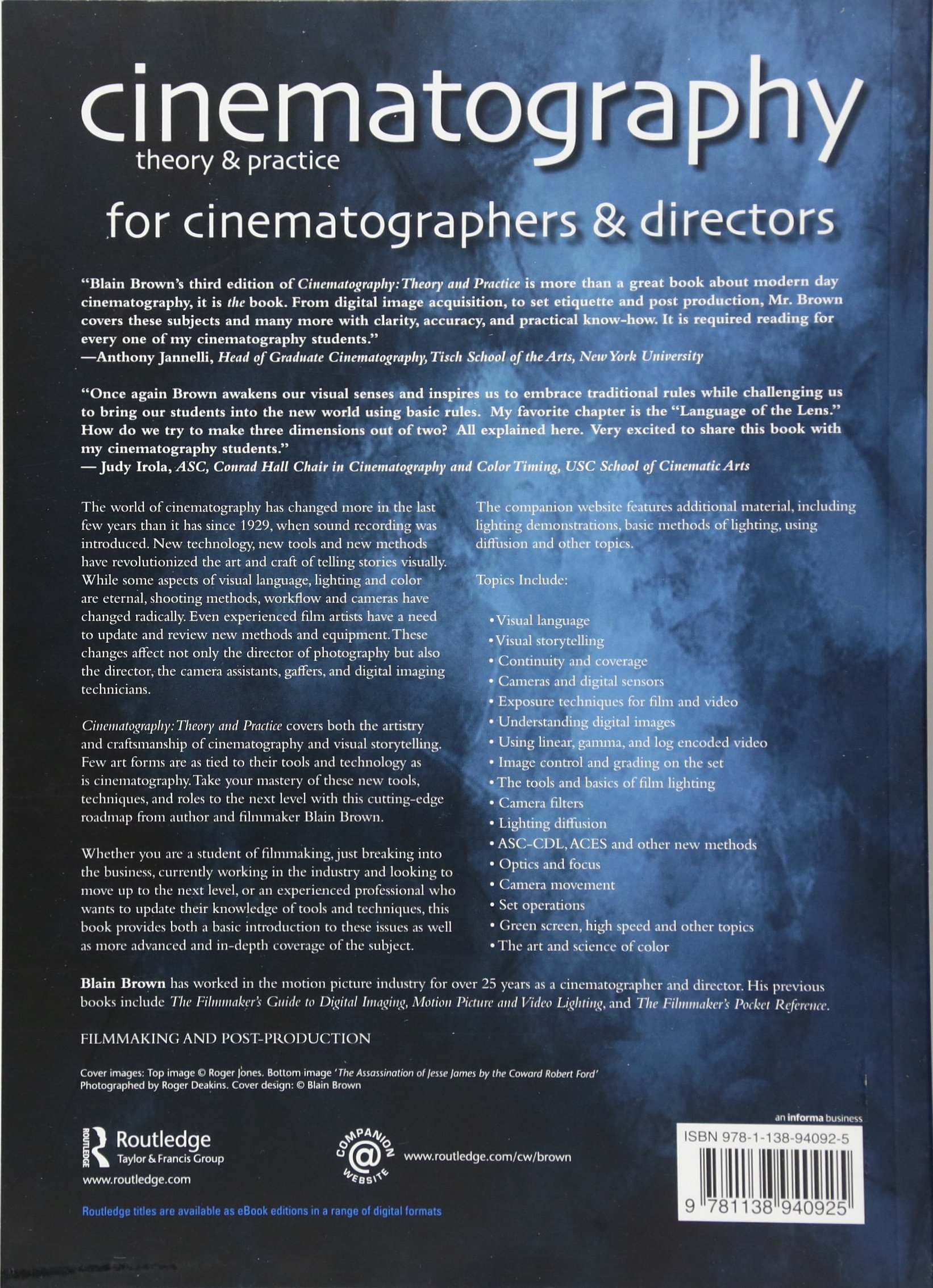 Buy cinematography theory and practice image making for buy cinematography theory and practice image making for cinematographers and directors volume 3 book online at low prices in india cinematography fandeluxe Choice Image
