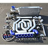 For Honda Prelude H22 High Performance 15pc T04E Turbo Upgrade Installation Kit