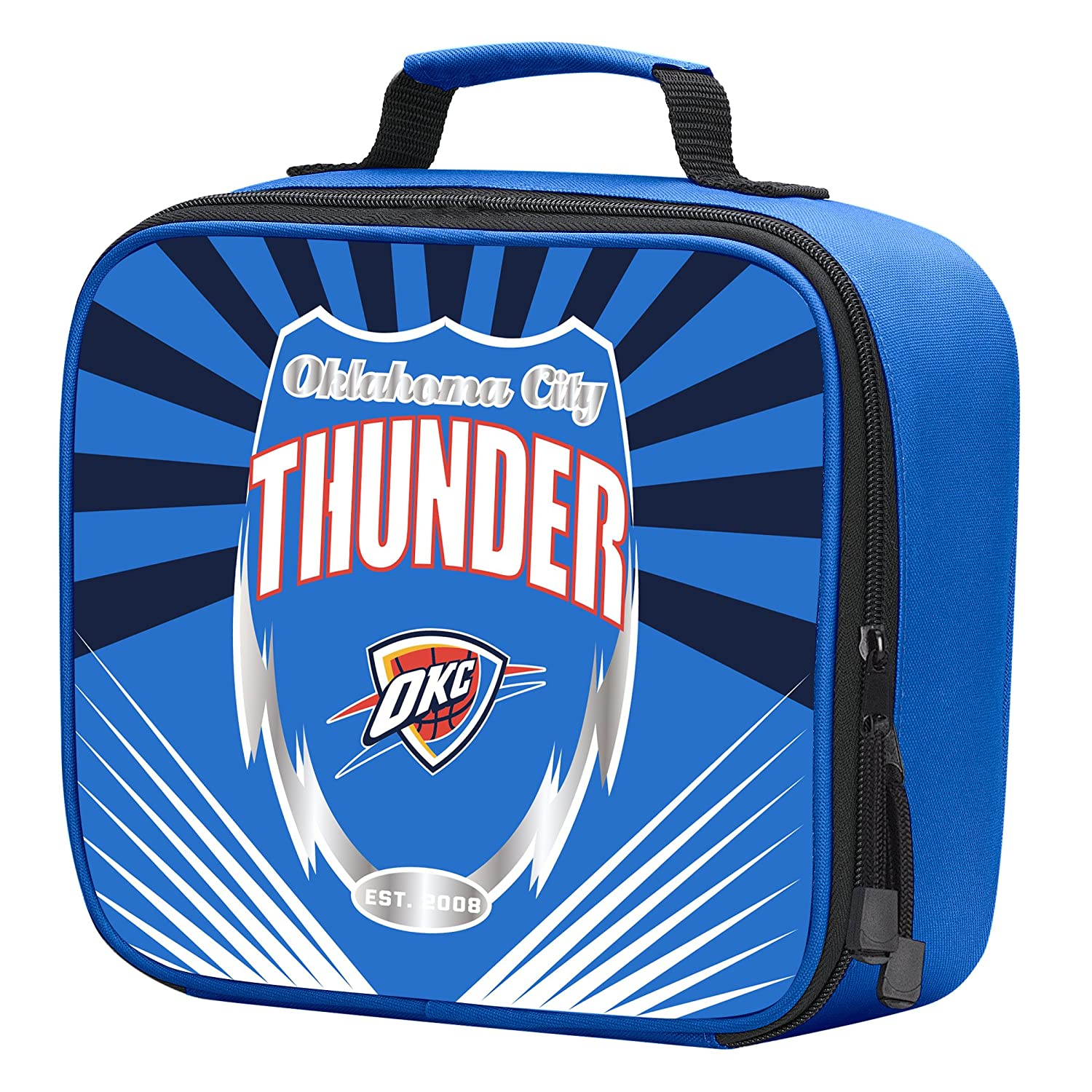 Officially Licensed NBA Lightning Kids Lunch Kit Bag Multi Color 10 x 3 x 8.5