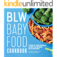 BLW Baby Food Cookbook : A Stage-by-Stage Approach to Baby-Led Weaning with Confidence (English Edition)