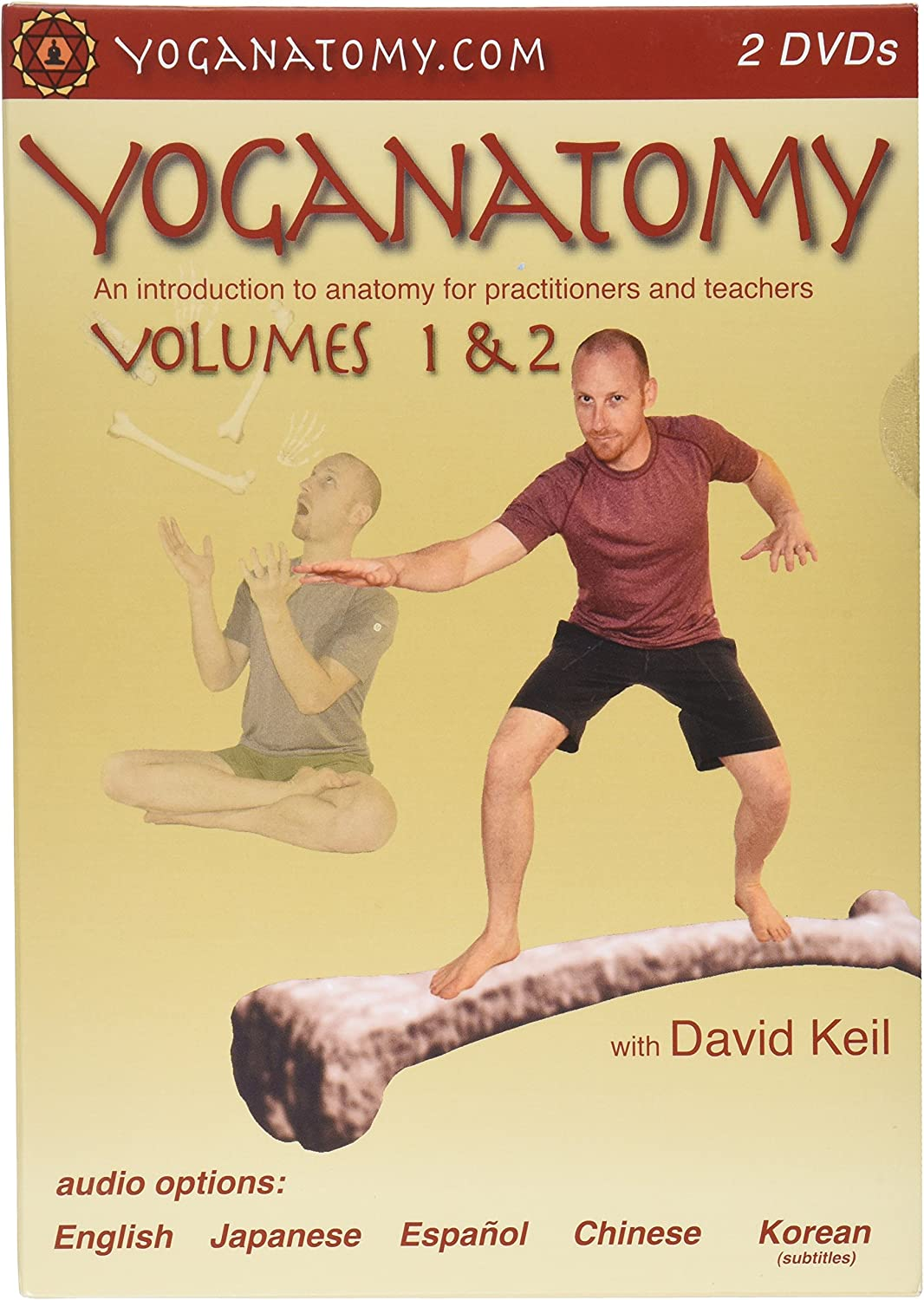 Yoganatomy, Vol. 1 & 2
