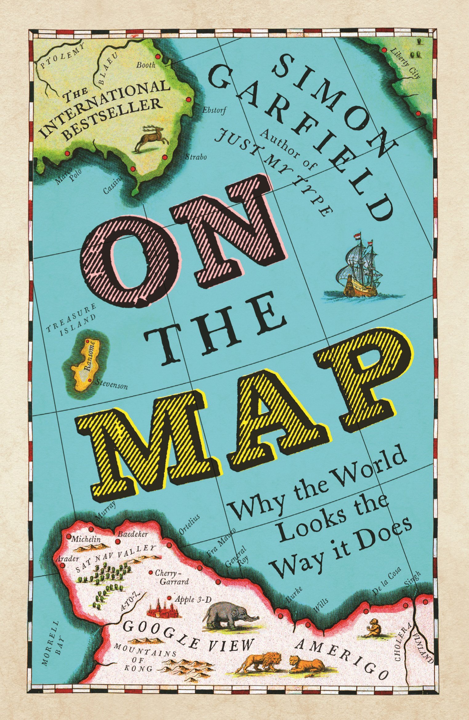 """Image result for """"On The Map: Why The World Looks The Way It Does"""""""