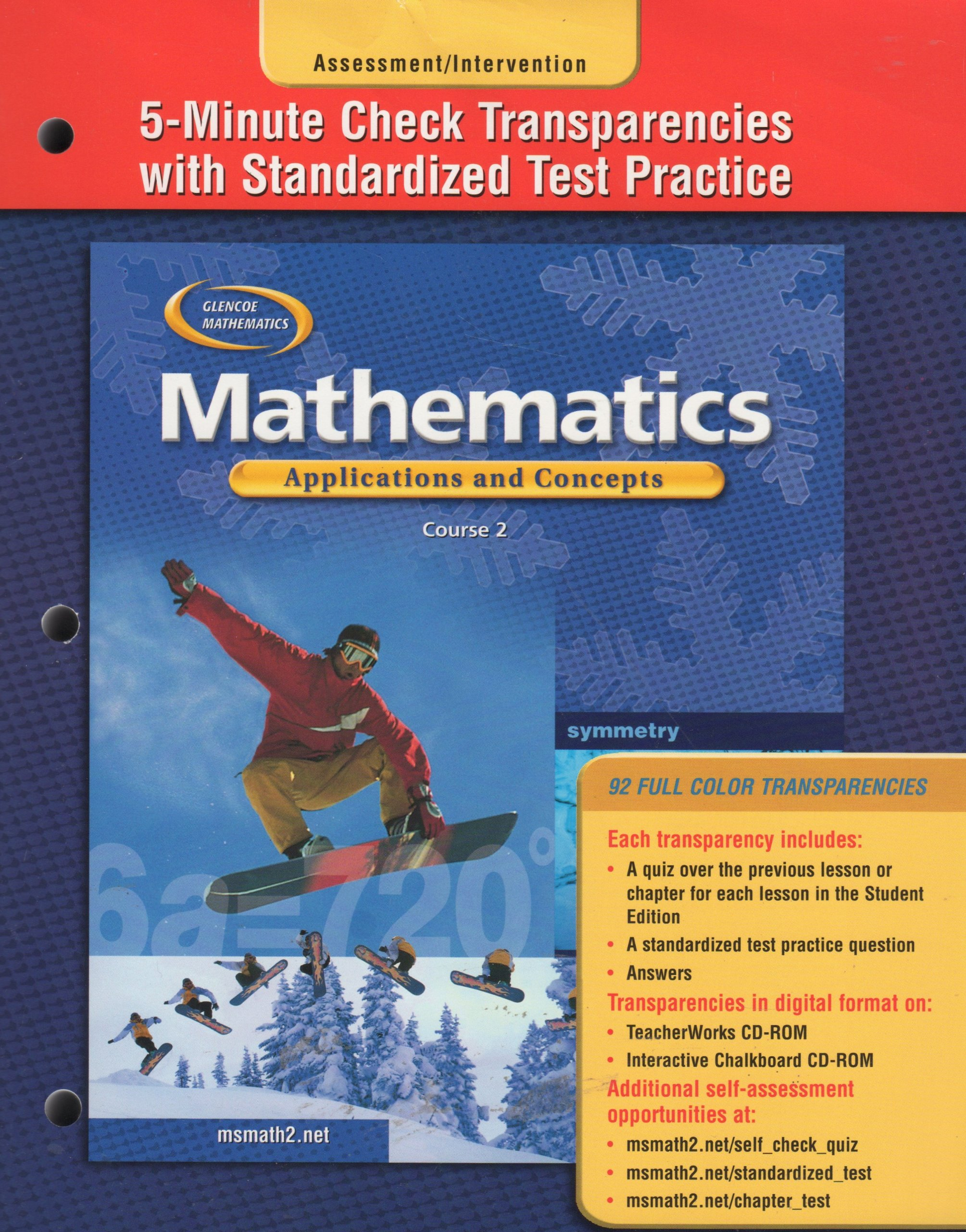Glencoe Mathematics: Applications and Concepts PDF