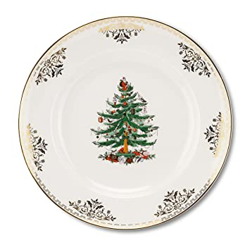 Image Unavailable. Image not available for. Color: Spode Christmas Tree  Gold Dinner Plate - Amazon.com Spode Christmas Tree Gold Dinner Plate: Dinner Plates