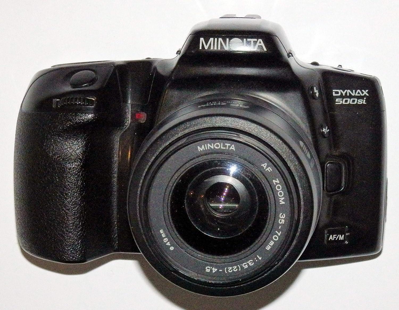 Cámara réflex de LLL MINOLTA DYNAX 500si + Lente MINOLTA AF Zoom ...