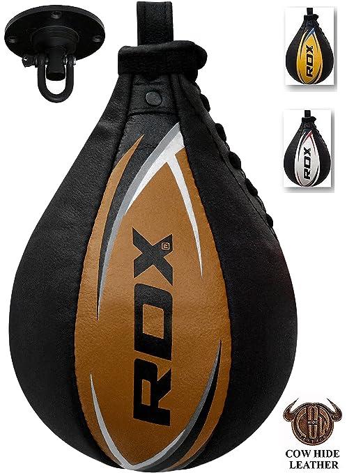 7 opinioni per RDX Cuoio Palla Tesa Per Speed Ball Bag Veloce Boxe Allenamento Pugilato Gancio