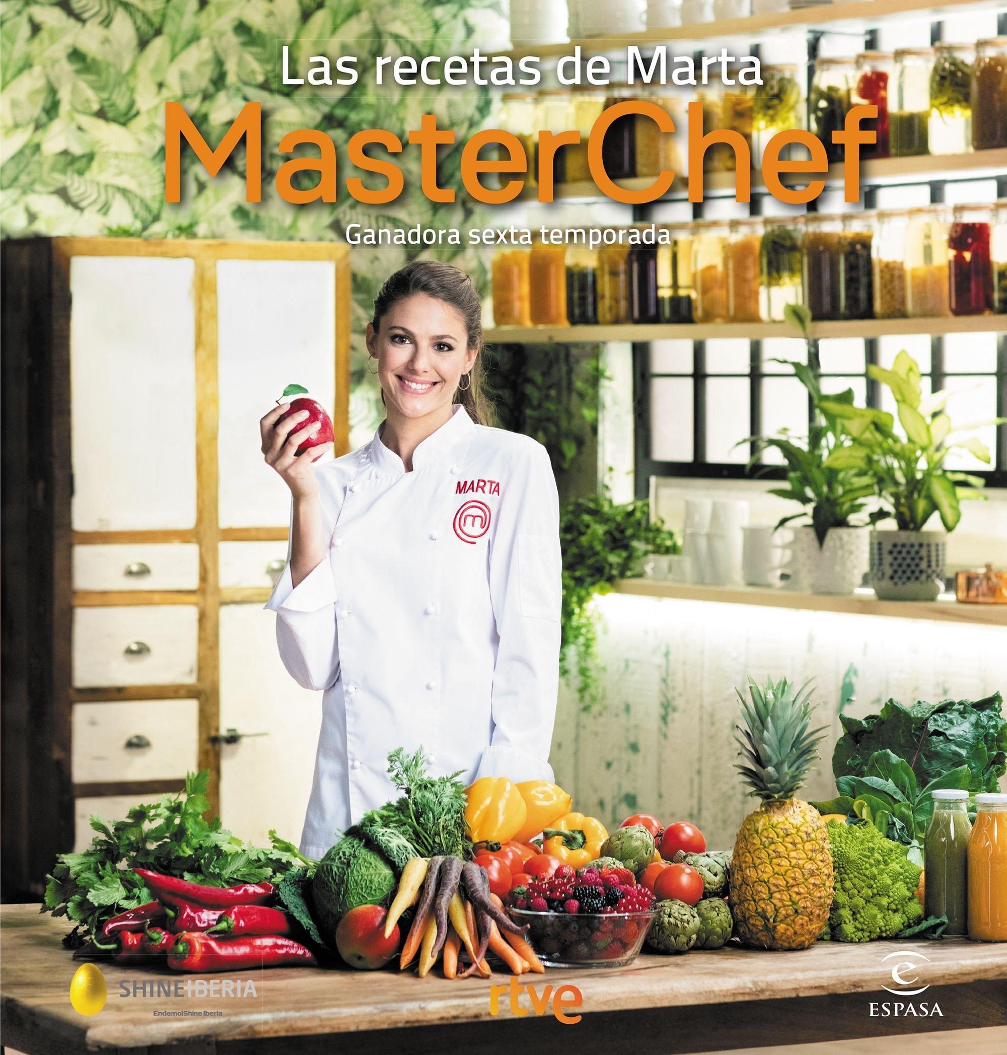 Las recetas de Marta: Ganadora sexta temporada. MasterChef Fuera ...
