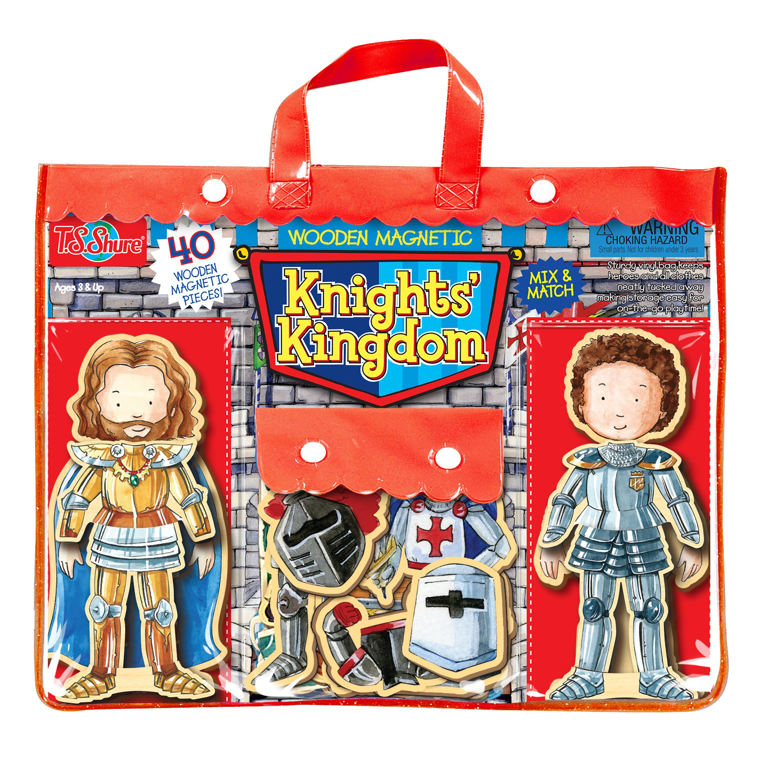 T.S. Shure Knights' Kingdom Wooden Magnetic Heroes by T.S. Shure