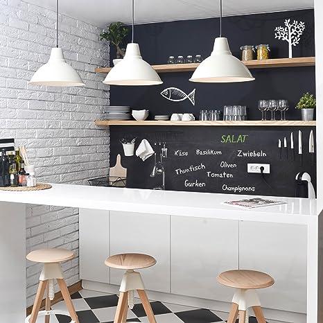 Pellicola - pellicola lavagna cucina - DIY Lavagna adesiva nero ...