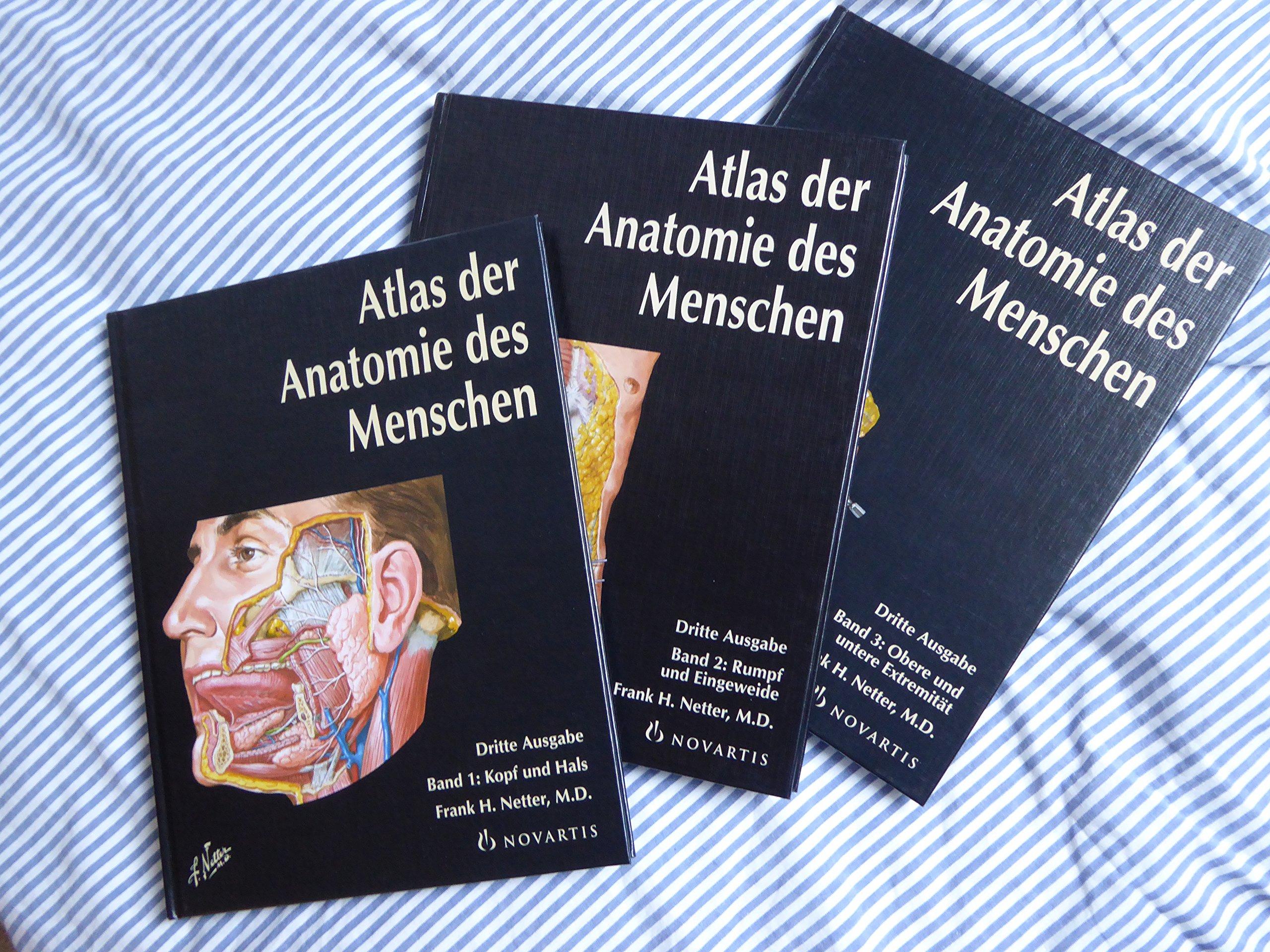 Netter: Atlas der Anatomie des Menschen 3 Bände: Amazon.de: Frank H ...