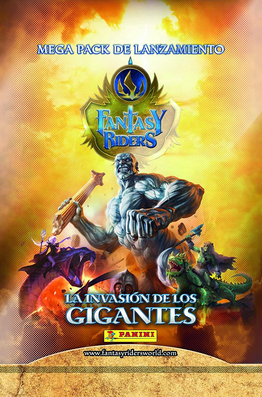 La invasi/ón de los Gigantes 003818SPE2 Panini Megapack Fantasy Riders 2