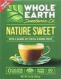 Whole Earth Nature Sweet With Stevia & Monk Fruit Sweetener 5.6 oz
