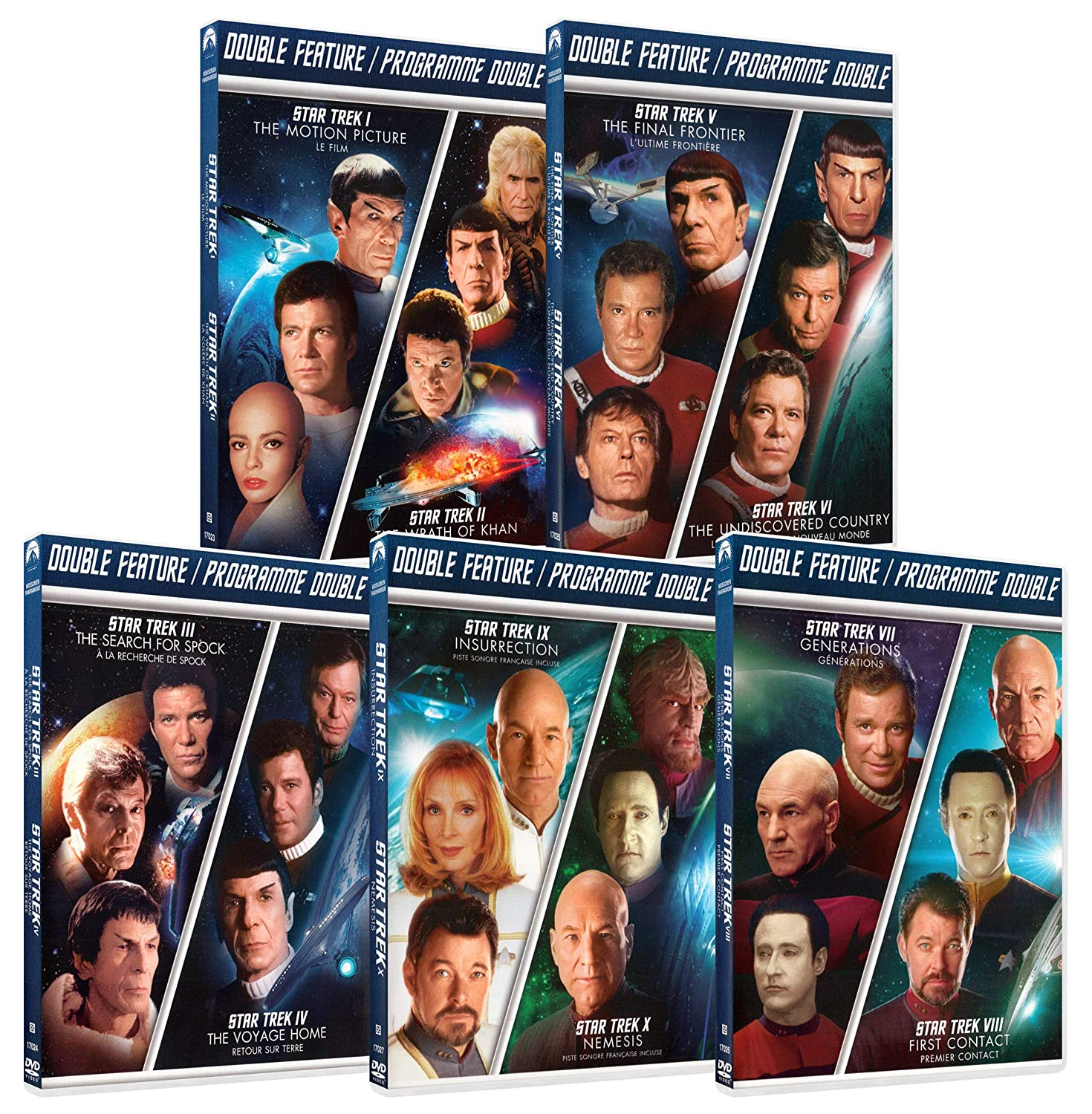 Star Trek Collection (Motion Picture / Wrath of Khan / Search For Spock / Voyage Home / Final Frontier / Undiscovered Country / Generations / First Contact / Insurrection / Nemesis)