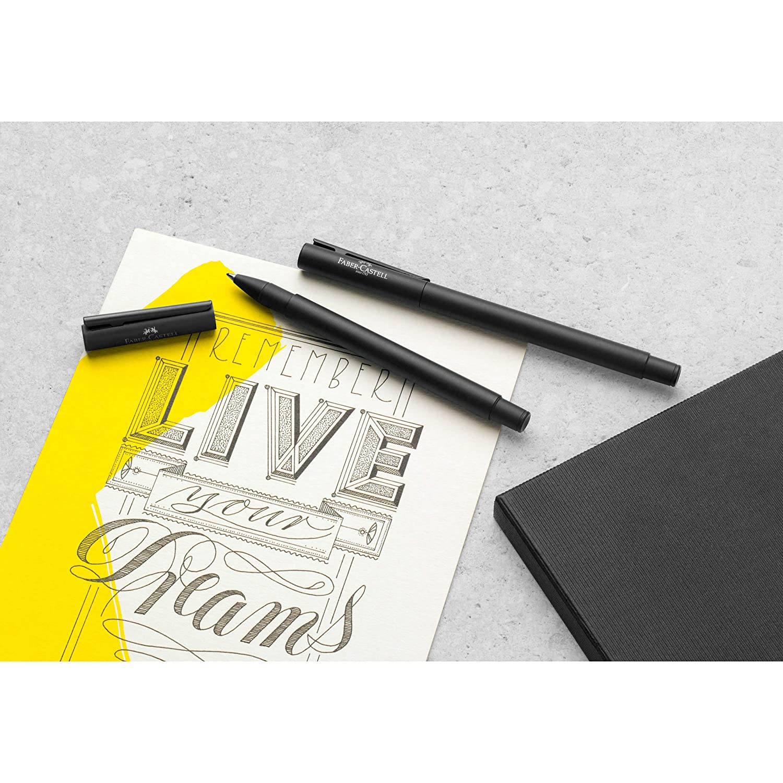 Faber-Castell in metallo nero opaco F/üller M nero opaco Penna stilografica NEO Slim
