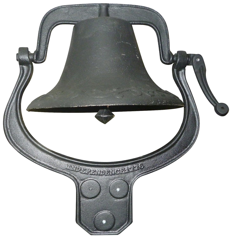 Yard Tuff YTF-22LB Large Cast Iron Farm Bell