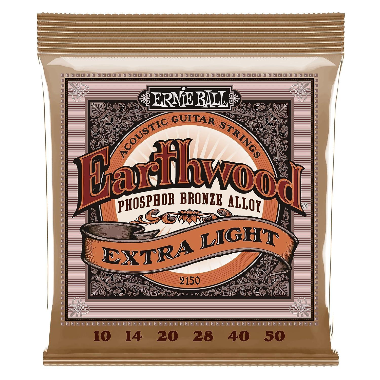 Ernie Ball 2146 Earthwood Medium Light Acoustic Phosphor Bronze String Set (12 - 54) Ernie Ball Music Man P02146