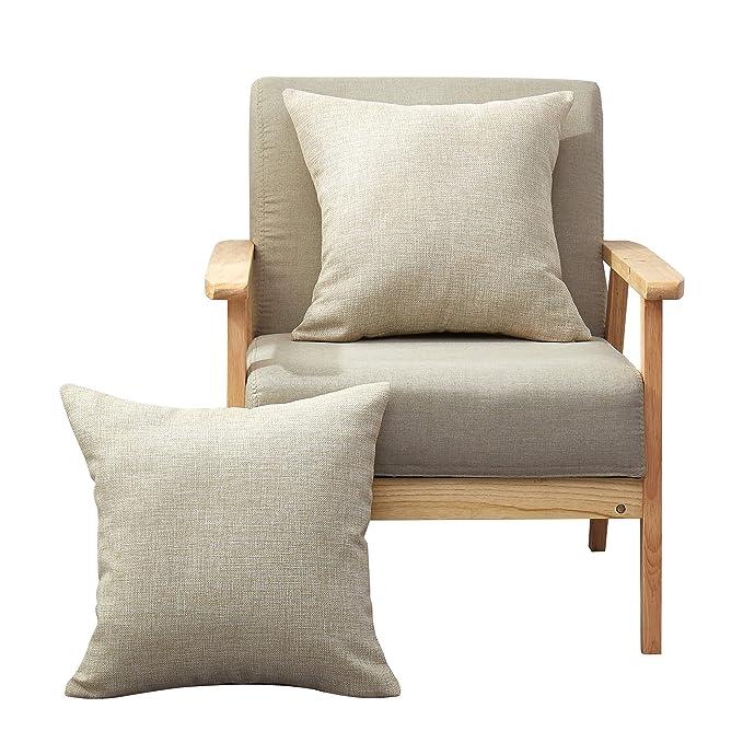 Amazon.com: MoMA - Juego de 2 fundas de almohada decorativas ...