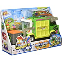 Grossery Gang Playset Muck Chuck Garbage Truck, Large